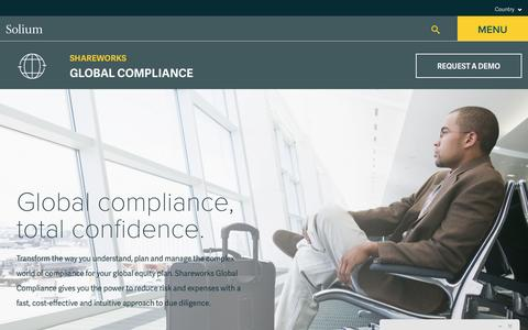 Solium | Global Compliance