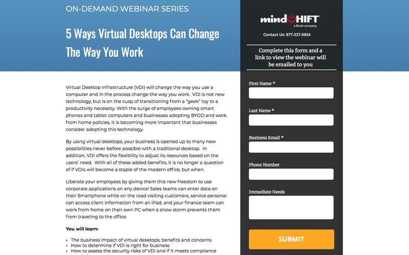 5 Ways Virtual Desktops Can Change the Way You Work - Webinar