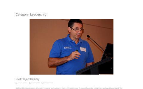 Screenshot of Team Page gmex.com.au - Leadership - captured July 15, 2018