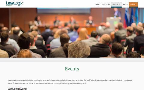 Events | LawLogix.com