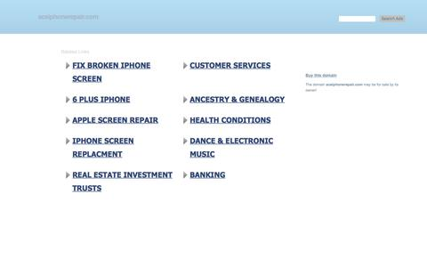 aceiphonerepair.com-This website is for sale!-aceiphonerepair Resources and Information.