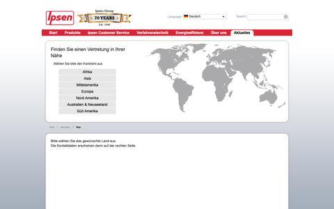 Screenshot of Maps & Directions Page ipsen.de - Karte - captured Oct. 12, 2018