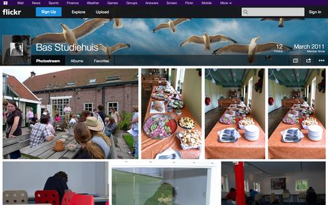 Screenshot of Flickr Page flickr.com - Flickr: Bas Studiehuis' Photostream - captured Oct. 23, 2014