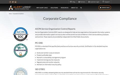 Safety Act Certification - AICPA Service Organization | Alert Logic
