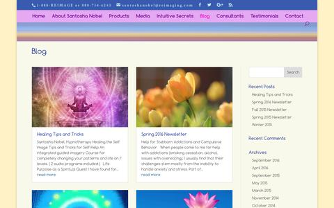 Screenshot of Blog reimaging.com - Reimaging Blog where you can findout more about reimaging - captured Nov. 18, 2016