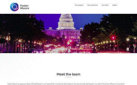 Meet the Team - Foster Moore International Limited