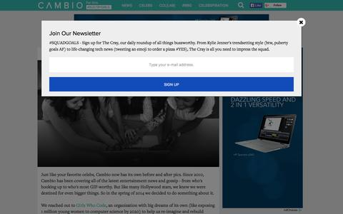Screenshot of About Page cambio.com - About Us | Cambio - captured Dec. 3, 2015