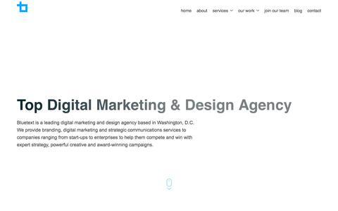 Top Digital Marketing & Design Agency | Bluetext