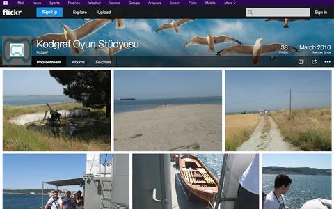 Screenshot of Flickr Page flickr.com - Flickr: kodgraf's Photostream - captured Oct. 23, 2014