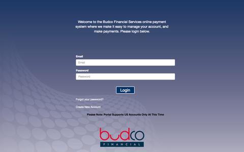 Screenshot of Home Page payipp.com - BFSX Consumer Portal - captured Sept. 13, 2015