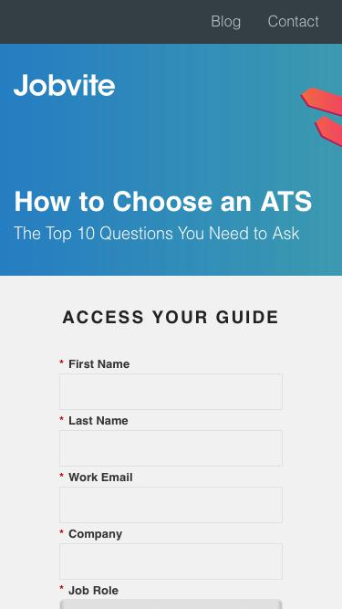 How to Choose an ATS: The Top 10 Questions You Need to Ask