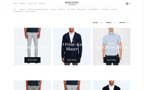 Men's New Arrivals | Ministry of Supply
