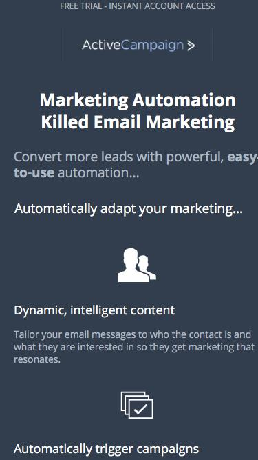 Email Marketing From ActiveCampaign