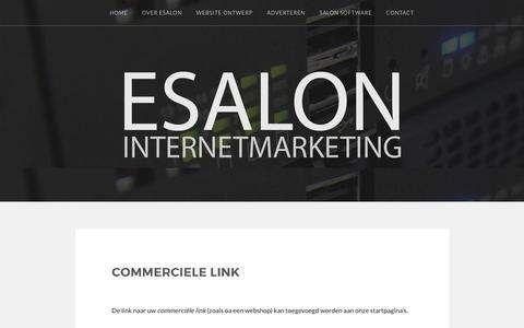 Commerciele link – ESALON Internetmarketing