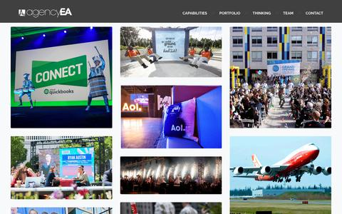 Browse our Client Portfolio to See Our Past Work | agencyEA