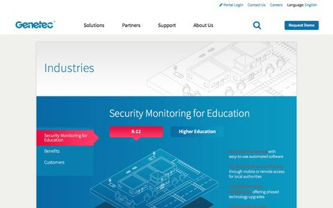 Security Monitoring for Education | Genetec