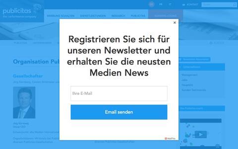 Screenshot of Team Page publicitas.ch - Publicitas Unternehmensleitung | Publicitas - captured April 4, 2017