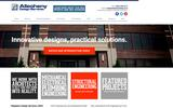 Old Screenshot Allegheny Design Services Home Page