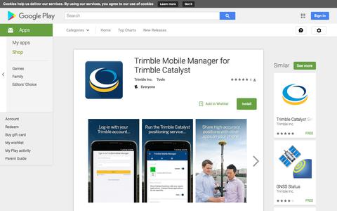 Trimble Mobile Manager for Trimble Catalyst - Android Apps on Google Play