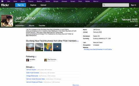 Screenshot of Flickr Page flickr.com - Flickr: Grunberg Haus - captured Oct. 23, 2014