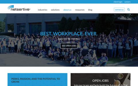 Screenshot of Jobs Page netsertive.com - Careers - Netsertive - captured March 8, 2018