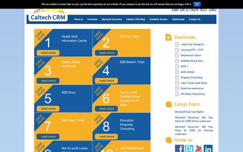Screenshot of Testimonials Page caltech.co.uk - Testimonials | Caltech - captured July 12, 2017