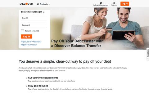 Balance Transfers: Best Ways to Pay Off Debt | Discover