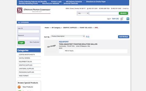 Screenshot of Developers Page omahapaper.com - Omaha Paper Company - captured Oct. 26, 2014