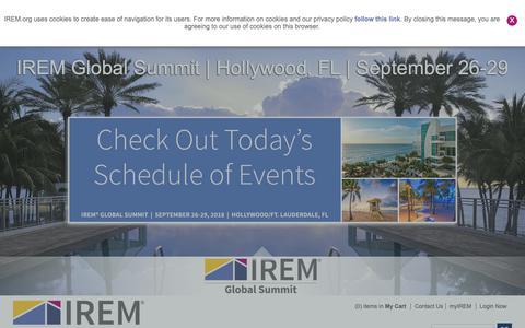 Screenshot of Jobs Page irem.org - Jobs - captured Sept. 30, 2018