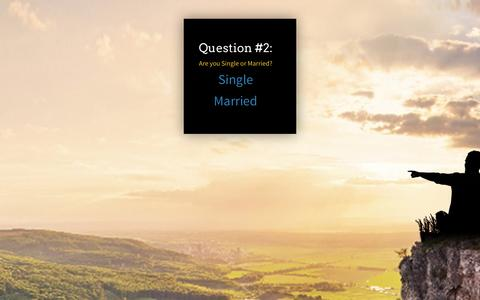Screenshot of Landing Page personallifemedia.com - Question 2a - q1-rm2 | Personal Life Media - captured Aug. 18, 2016