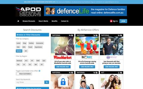 Browse and Search | Military Defence Discounts