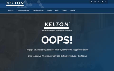 Screenshot of Press Page kelton.co.uk - Page Not Found - KELTON - captured Aug. 6, 2015