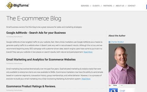 The Blog for Ecommerce Websites | BigTurns, Vancouver, BC