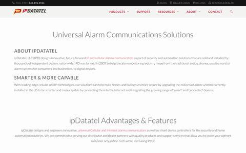 Universal Alarm Communication Systems & Alarm Communicators | ipDatatel