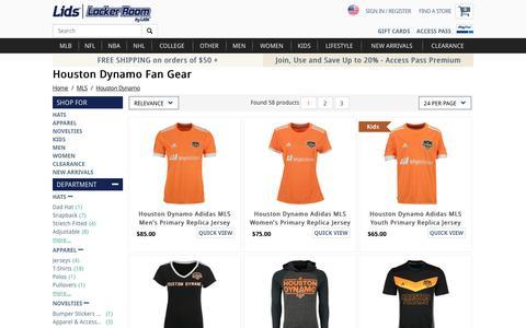 Houston Dynamo Fan Gear | Houston Dynamo Store | lids.com