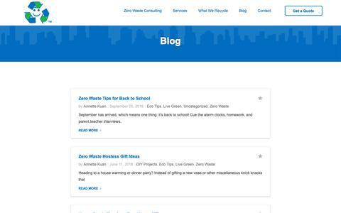 Screenshot of Blog happystan.com - Blog - HSR Services - captured Sept. 27, 2018