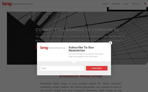 bmg -  bmg (Broadsuite Media Group)