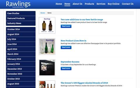 Screenshot of Press Page rawlingsbristol.co.uk - Rawlings - Blog - captured Oct. 26, 2014