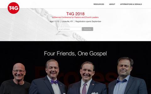 Home - Together for the Gospel : Together for the Gospel