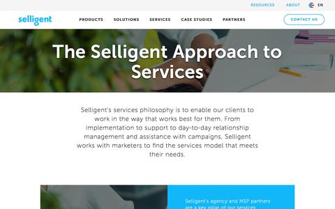 Implementation and Support Services | Selligent