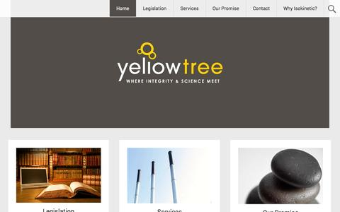 Screenshot of Home Page yellowtree.co.za - Yellow Tree   Boiler Stack   Process Stack   Emissions Compliance Testing   South Africa (083 307 6413 ) - captured Oct. 6, 2014