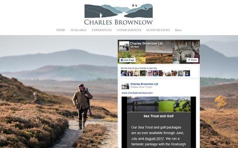 Screenshot of Press Page charlesbrownlow.com - Charles Brownlow | Scottish Holidays | NEWS - captured Nov. 4, 2016