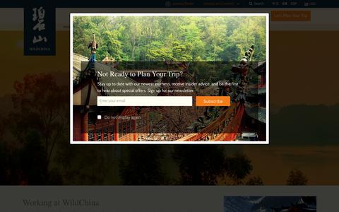 Screenshot of Jobs Page wildchina.com - Careers   WildChina - captured Sept. 20, 2018