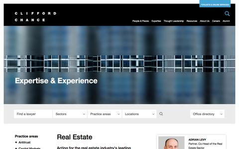 Clifford Chance | Real Estate
