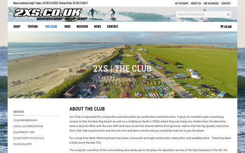 Screenshot of Signup Page 2xs.co.uk - 2XS | THE CLUB - 2XS - captured May 24, 2018