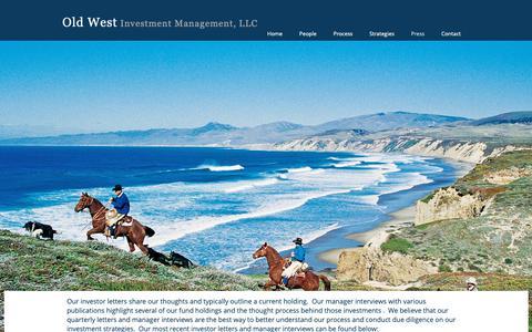 Screenshot of Press Page oldwestim.com - Old West | Press - captured Oct. 18, 2018