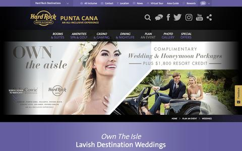 Destination Weddings in Punta Cana, Dominican Republic