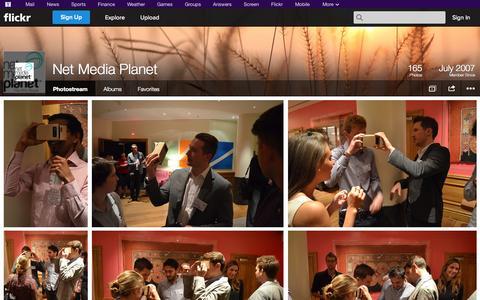 Screenshot of Flickr Page flickr.com - Flickr: Net Media Planet's Photostream - captured Oct. 26, 2014