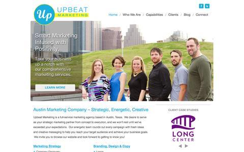 Home - Upbeat Marketing