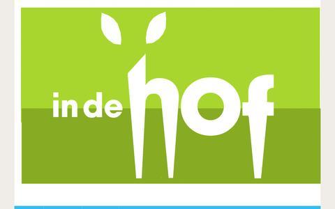 Screenshot of Blog indehof.nl - Blog - In de Hof - captured Dec. 2, 2016